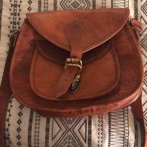 Handbags - Genuine leather crossbody bag